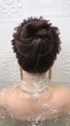 Cute Hairstyles For Medium Hair, Bride Hairstyles, Headband Hairstyles, Summer Hairstyles, Medium Hair Styles, Creative Hair Color, Hair Upstyles, Front Hair Styles, Long Hair Video