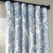 - Room Darkening Curtains - Ideas of Room Darkening Curtains #RoomDarkeningCurtains Modern Curtains, Colorful Curtains, Drapes Curtains, Blue And White Curtains, Blue Floral Curtains, Patterned Curtains, Bedroom Curtains, Drapery