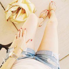 Same sandals, different day. #ootd #joieclothing #liketkit www.liketk.it/mPK @LIKEtkit