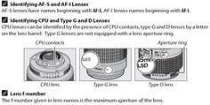 What lenses can I use on the Nikon D5100, D5000, D3200, D3100, D3000, D60, D40X, D40?