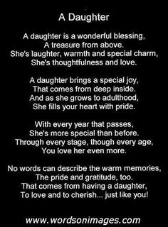 To my beautiful daughter.I love you! Your strength, wit, sense of humor, creativity, caring and compassion never cease to amaze me. Your are an incredible young woman with the potential for so much more than I know we both think possible. Mother Daughter Quotes, I Love My Daughter, My Beautiful Daughter, Daughter Growing Up Quotes, Proud Of You Quotes Daughter, Daughter Sayings, Father Daughter, Life Quotes Love, Mom Quotes