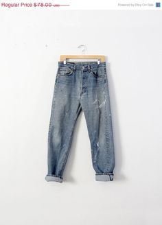 SALE Vintage Levis Jeans / 1980s Levis 501 Denim / by