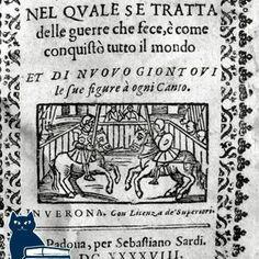 Alessandro Magno nel quale se tratta delle guerre che fece, e come conquistò il mondo . Verona, 1648.  [www.libriantichionline.com]