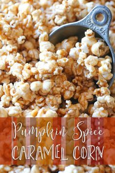 Popcorn is great all year round and one of the best things about it? It's so easy to customize. Give your snack a sweet, spicy, salty spin when pumpkin spice meets crunchy caramel. A pinch of cinnamon here, a dash of nutmeg there and before you know it you have a simple, tasty fall snack. Find this pumpkin spice caramel corn recipe and everything you'll need over on eBay.