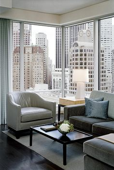 The St. Regis San Francisco—Astor Suite. I sat in that chair, drinking coffee, wishing I could move it.