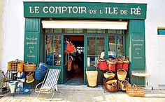 Ile De Ré, France: Notes from a small, flat island - Telegraph Seafood Shop, Places To Travel, Places To Visit, Saint Martin, Holiday Places, Shop Fronts, Camping, France Travel, Around The Worlds