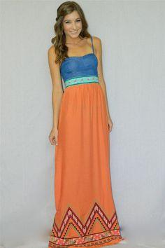 Arizona Sunset Maxi Dress