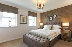 Who wouldn't want to curl up in this master bedroom? Master Bedroom, Diy Crafts, Furniture, Home Decor, Master Suite, Decoration Home, Room Decor, Make Your Own, Home Furnishings
