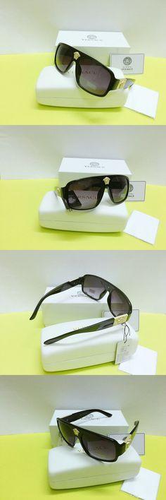 47709b7ae3086 Versace Sunglasses Black-less Golden black Men Sunglasses