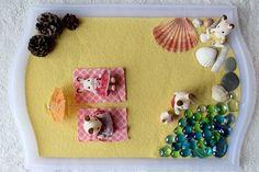 Maman Nougatine Les vacances des Sylvanian Families [+ plateau sensoriel] - Maman Nougatine
