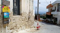 Crete Greece, Home And Away, Globe, Street View, Speech Balloon