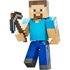 Minecraft Basic Action Figures Series 1 - Steve with Pickaxe