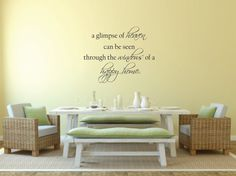 Vinyl Wall Decal A glimpse of heaven can be by BlueCoutureDesign, $16.00