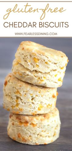 If you are looking for that flaky easy to make gluten free cheddar biscuits, this is the recipe you need to try. This Red Lobster Bay Biscuit copycat recipe has so much delicious flavor! Simple directions, this gluten free biscuit recipe takes about 30 minutes to make. www.fearlessdining.com Good Gluten Free Bread Recipe, Gluten Free Biscuits, Gluten Free Recipes, Bread Recipes, Cheddar Bay Biscuits, Flaky Biscuits, Red Lobster Gluten Free, Biscuit Recipe, Recipe Box