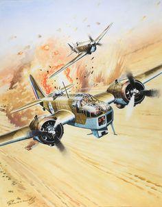 Plane colours : Photo - Bombardér Bristol Blenheim