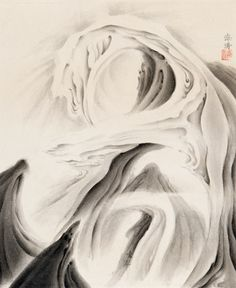 Hai Tao. Rising Tide. Nanjing, China, 2010. Ink on rice paper. 12.75 x 10.25 inches (32.4 x 26 cm). Asia Week New York | M. Sutherland Fine Arts, Ltd.