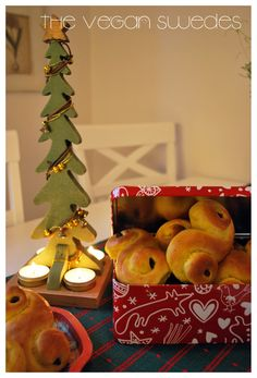 Using saffron in sweet buns is common in Sweden and during advent and christmas, very very common. The lussekatt is a sweet saffron bun ment...