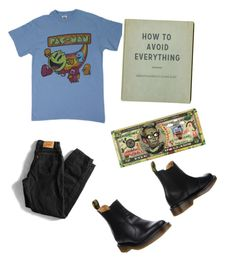 """""""Untitled #10"""" by catb828 ❤ liked on Polyvore featuring Levi's and Dr. Martens"""