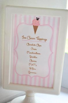 Minnie Mouse Ice Cream Shop Party Planning Ideas Supplies Idea Cake