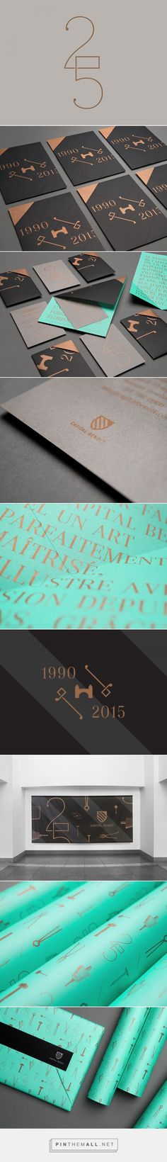 25th anniversary | Capital Benoit | lg2 | Fivestar Branding – Design and Branding Agency & Inspiration Gallery