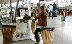 Des mollets pour recharger dans les gares