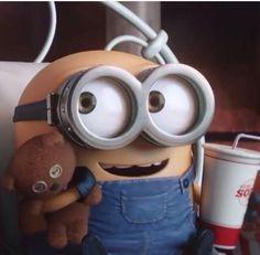 Bob the minion ❤️ Minions Bob, Minions Images, Cute Minions, Funny Minion Memes, Minions Despicable Me, Minions Quotes, My Minion, Funny Jokes, Cute Disney Wallpaper