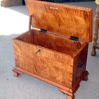 Tiger Maple Keeping Chest - Charles Neil