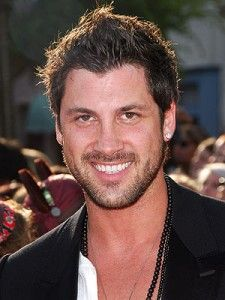 Maksim Chmerkovskiy- Dancing With The Stars. I would love to dance with him anytime.........