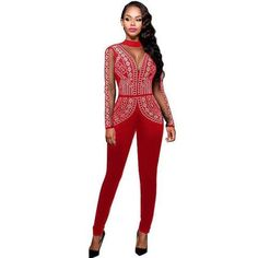 Bodysuits Temperate Women Long Sleeve Pleated Bodysuit Sexy Bodycon Lace Up O Neck High Waist Jumpsuit Ladies Spring Casual Jogger Playsuit Rompers