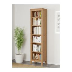 HEMNES Librería - marrón claro - IKEA