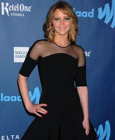 Jennifer Lawrence lució su nuevo corte de cabello el fin de semana en los GLAAD Media Awards ¿Qué tal luce?