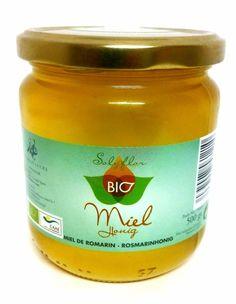 #Miel ecológica de romero BIO. En envase de 500 grs. Recolectada en el Parque Natural de Sierra Nevada. Disponible en www.laorzaiberica.com