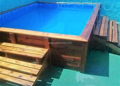 recycled pallet pool