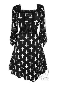 Dare To Wear Victorian Gothic Women's Plus Size Renaissance Corset Dress Joan of Arc