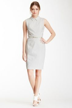 Cynthia Steffe Chrissy Collared Sheath Dress by Non Specific on @HauteLook