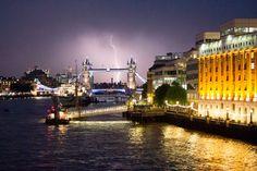 Londres (Gran Bretaña): la ciudad de la lluvia