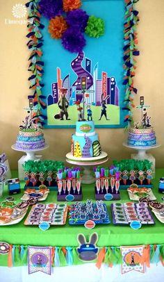 zootopia Birthday Party Ideas | Photo 1 of 25