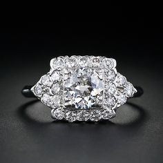 1930's vintage engagement ring... Oh my good lord
