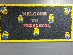 """Despicable Me bulletin board idea. """"Nothing to read? That's despicable! Find your next book at the library. We have a 'minion' of them."""" or something like that."""