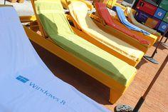 Detalle de la terraza donde fue el lanzamiento de Windows 8 en México.