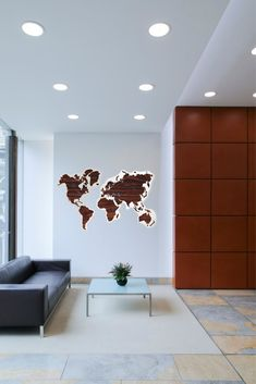 Brown Tigerwood World Map Wood by GaDenMap. Push Pin travel map for wall decor in office room, bedroom, living room, kid's room decorating. Gray Rustic World Map by GaDenMap. Push Pin travel map for wall decor in office room, bedroom, living room, kids room decorating. Unique gift idea for travelers #mapwallart #homedecor #livingroomdecor Wooden Map, Wooden Decor, Wooden Wall Art, Rustic Decor, Farmhouse Decor, World Map Wall Decor, Home Decor Wall Art, Bedroom Decor, Globe Decor