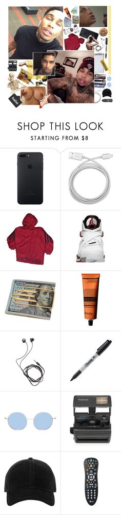 """""""- Kendrick -"""" by fvcking-hoes ❤ liked on Polyvore featuring Belkin, adidas, Cartier, Aesop, Diane Von Furstenberg, Sharpie, FRUIT, Origins, Bastien and Impossible"""