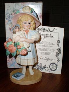 Jan Hagara MATTIE Porcelain Figurines, NIB with COA picclick.com