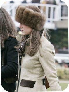 éphémère couture: The royal collection : kate's fur hat and free pattern!
