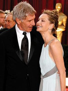 Harrison Ford & wife Calista Flockhart