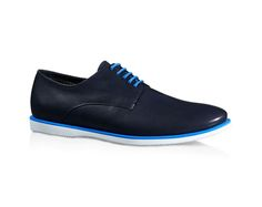 Hogan Club H262 men's navy blue lace-ups shoes - Italian Boutique €217