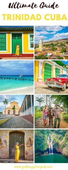When traveling to #Cuba and deciding on what cities to visit, a few nights in #Trinidad Cuba should be a must. Trinidad is Cuba's best-preserved colonial town, with the old part of Trinidad being a #UNESCO heritage site since 1988. Trinidad, like most colonial towns, is gorgeous with brightly colored buildings and cobblestone streets    Getting Stamped - Couple #Travel & #Photography #Blog