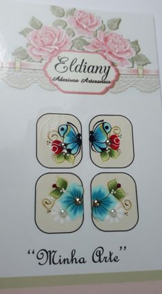 Manicure, Nails, Nail Art, Stickers, How To Make, Design, Cool Easy Nail Designs, Cute Nails, Butterfly Art
