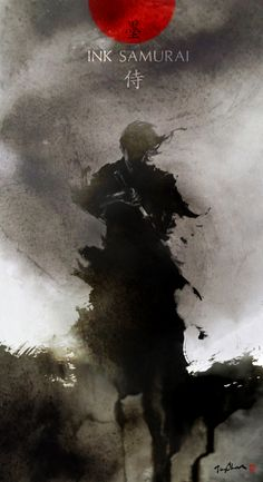 Ink Samurai by *Jungshan on deviantART