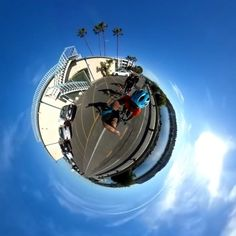 Bike rides in 360 are so much cooler.  #lifein360 #tinyplanet #littleplanet #photosphere #360photo #360camera #360view #360panorama #spherical #360selfie #camera360 #360 #360degrees #360photography #panorama #sphere #smallworld #widelens #vr #virtualreality #creativephotography #createandcapture #wideangle #wideanglelens #fisheyelens #fisheye